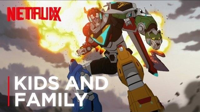 Voltron: Legendary Defender | Official Trailer [HD] | Netflix