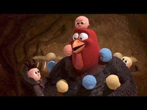 "FREE BIRDS ""Baby Turkeys"" Movie Clip # 3"