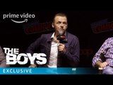 The Boys - NYCC 2018: Simon Pegg Reveal | Prime Video