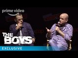 The Boys - NYCC 2018 - Featurette: Eric Kripke on Garth Ennis' Priority For The Show   Prime Video