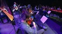 Ibrahim Maalouf en répétition avec 200 jeunes à la Seine Musicale