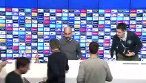 Guardiola looks ahead to his side's EPL trip to bottom-placed Huddersfield