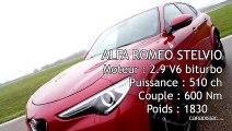 Comparatif - Les essais de Soheil Ayari - Alfa Romeo Stelvio QV VS Mercedes GLC 63 AMG S : le bal des éléphants