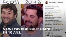 PHOTOS. Laurence Boccolini, Alex Goude, Sandrine Quétier... quand les animateurs télé font le #10YearsChallenge