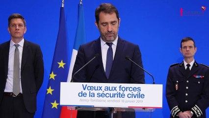 Christophe Castaner à Nancy «Il faut une réponse à toutes les agressions»
