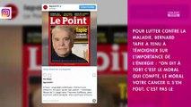 """Bernard Tapie atteint d'un cancer : son procès le """"tient vivant"""""""
