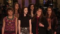 Rachel Brosnahan Offends Aidy Bryant - SNL