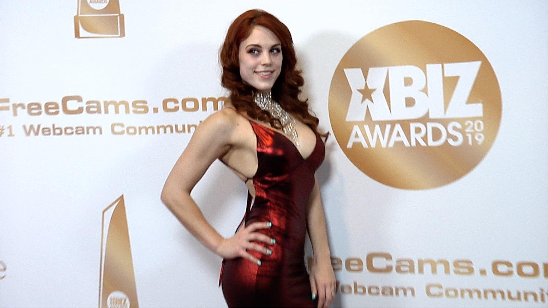 Molly Stewart 2019 XBIZ Awards Red Carpet Fashion