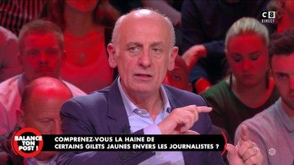 """Jean-Michel Apathie revient sur son vif échange avec le """"journaliste gilet jaune"""""""