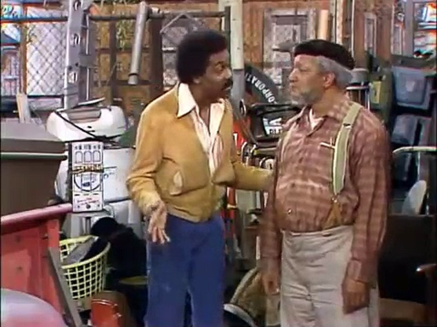 Sanford and Son - S01 E09    (Coffins for Sale)