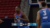 Deonte Burton rises up and throws it down