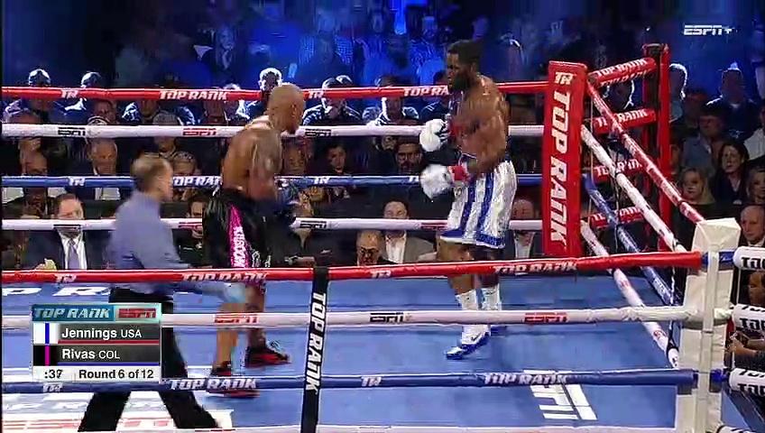 Bryant Jennings vs Oscar Rivas (18-01-2019) Full Fight