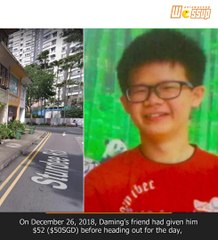 Boy lost in Singapore for 10 days because he was too shy to ask for directions