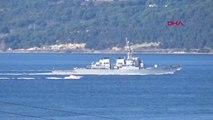 Çanakkale ABD Savaş Gemisi Çanakkale Boğazı'ndan Geçti