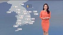 [날씨] 출근길 반짝 추위…미세먼지는 보통