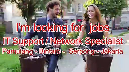 IT Support Network Specialist Pamulang Tangerang Selatan