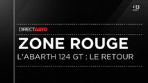 Zone Rouge: L'Abarth 124 GT - Direct Auto -  19/01/2019