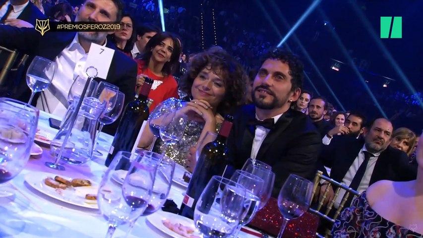 El discurso feminista de Inma Cuesta en los Premios Feroz