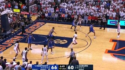 No. 12 Kentucky vs. No. 14 Auburn Basketball Highlights (2018-19)