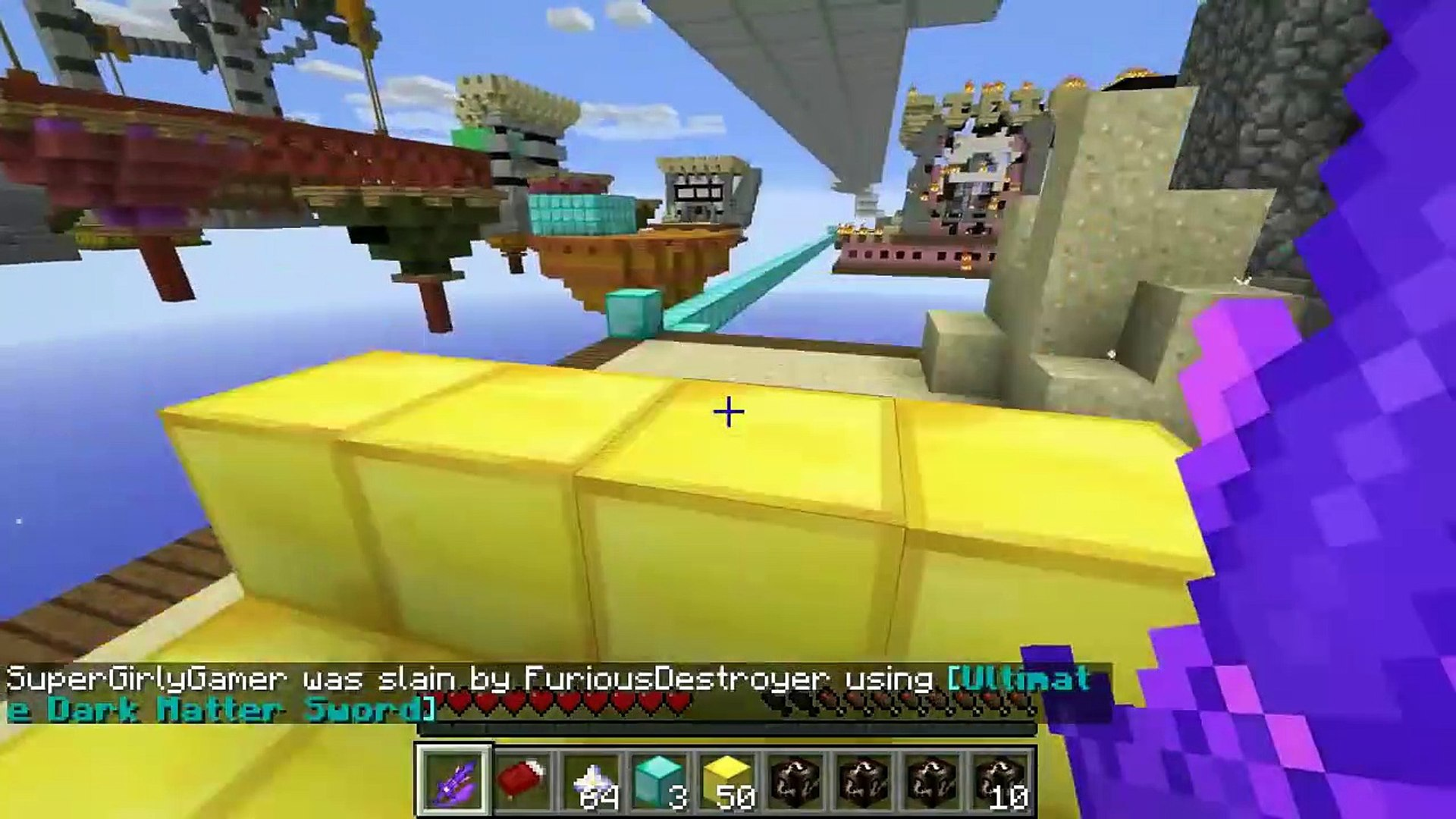 Popularmmos Minecraft Overpowered Lucky Block Bedwars Modded Mini Game Video Dailymotion