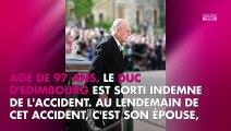 Prince Philip victime d'un accident de voiture : les surprenants détails dévoilés