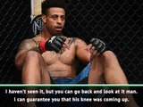 Ex-NFL star Greg Hardy emotional after disqualification on UFC debut