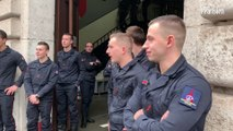 Pompiers morts rue de Trévise : l'hommage surprise et bouleversant des riverains de la caserne