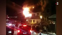Courchevel : deux morts dans un incendie