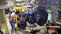 How to rebuild a Yamaha R6 - Réparation épave YAMAHA R6 pour usage piste ( 720 X 1280 )