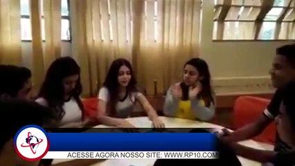 Vídeo mostra despedida de Júlia Maria em turma de leitura da escola, em Araçatuba