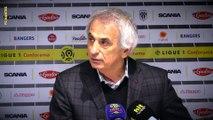 Angers SCO - FC Nantes : la réaction de Vahid Halilhodzic