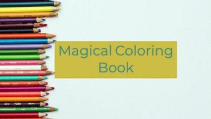 Magical Coloring Book!!!