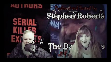 The Dark Hours Podcast with owner and creator Tressa Graves and Producer Stephen Roberts