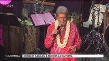 Gabilou a enflammé l'Olympia en compagnie d'artistes de tout le Pacifique