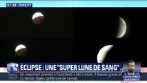 L'éclipse de Lune aperçue dans le monde entier