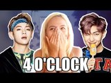 BTS RAP MONSTER V '4O CLOCK' (네시) REACTION