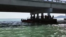 Authorities locate car that fell off Penang Bridge