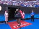 'Am I Simona Halep?' - Serena gets her entrance wrong