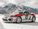 VIDEO: Así es el Porsche Cayman GT4 Rallye Concept