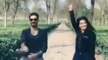 Sunny Leone dances with Husband Daniel Weber on Ranveer Singh's Aankh Marey; Watch video | Boldsky