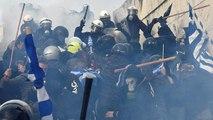 Manifestation à Athènes contre le nouveau nom de la Macédoine