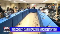 MMDA conducts clearing operations vs road obstructions