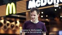 La tecnología de Mcdonald's crea entornos accesibles para gente con discapacidad visual