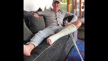 Denis Brogniart annonce dans une vidéo qu'il vient d'être opéré et explique pourquoi il va être immobilisé 5 semaines