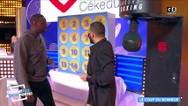 Session punching-ball pour Omar Sy !