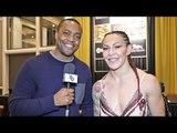 UFC Cris Cyborg REACTION Manny Pacquiao BIG WIN vs Adrian Broner