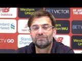 Liverpool 4-3 Crystal Palace - Jurgen Klopp Post Match Press Conference - Premier League