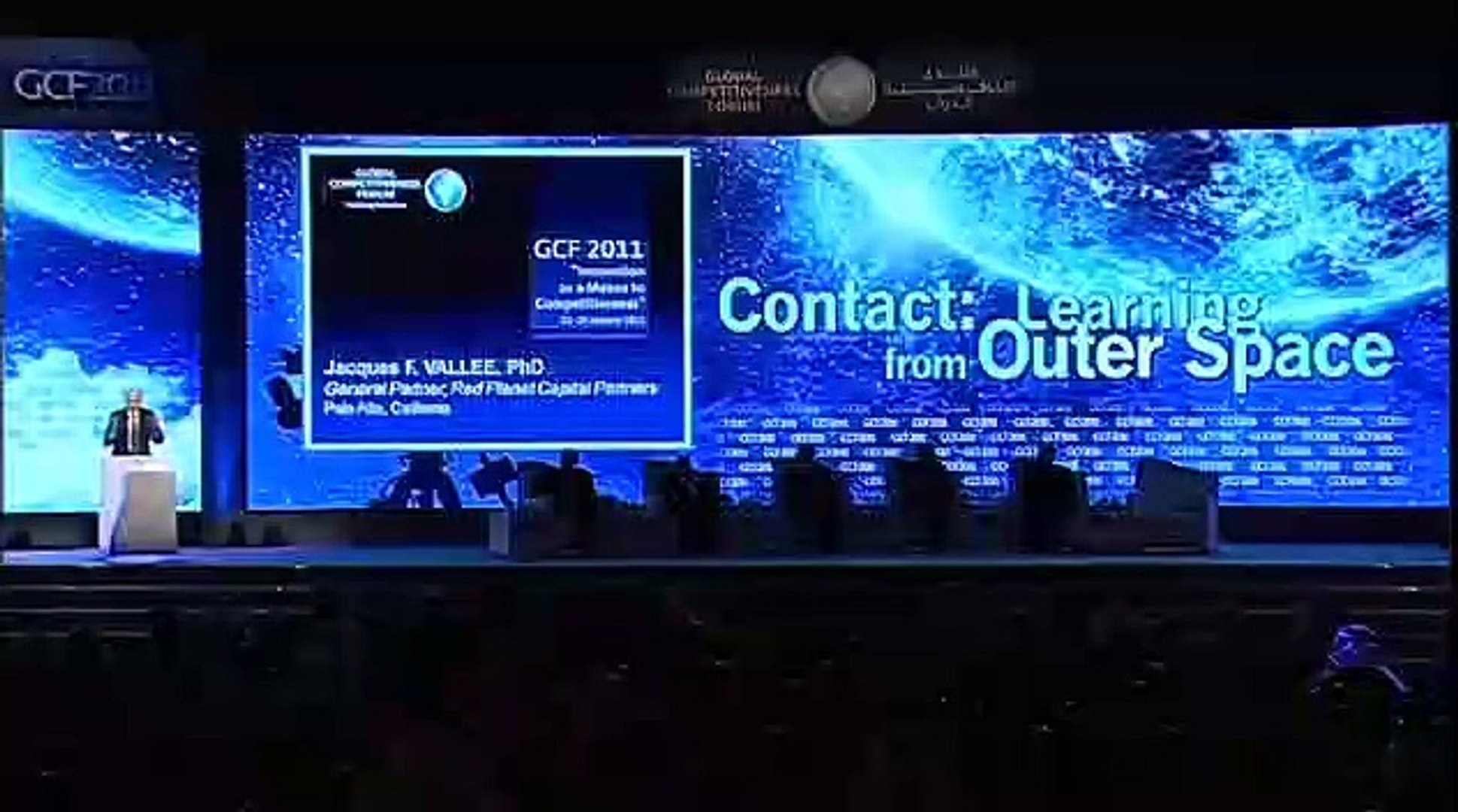 Jacques Vallee - Contact Learning from Outer Space - GCF 2011 - 01 -23