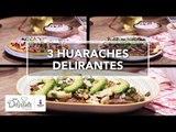3 huaraches delirantes   Cocina Delirante