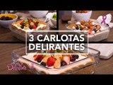 3 Carlotas delirantes   Cocina Delirante